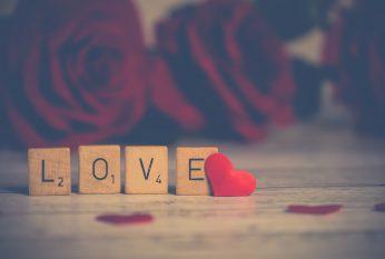 Liefde scrabble