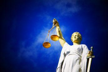 Vrouwe Justitia rechtvaardigheid